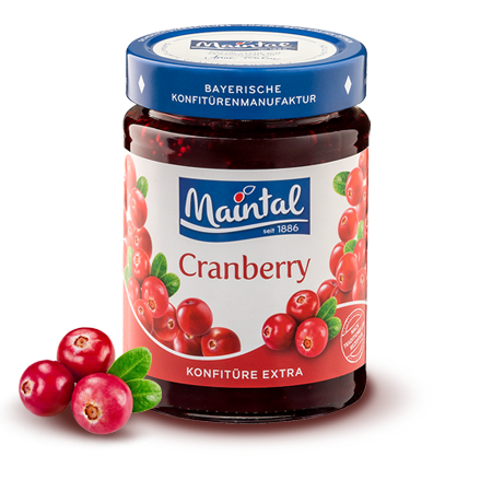 Maintal 340 g Cranberry Konfituere